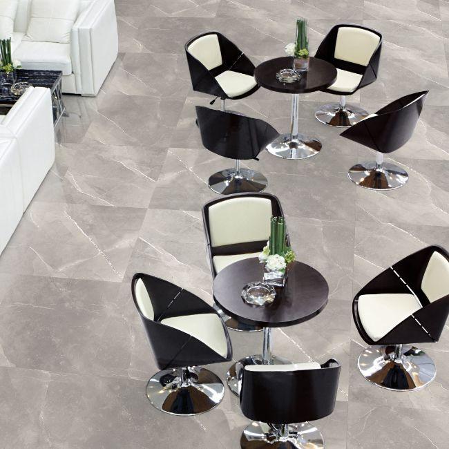 Picture of Armani Light Grey Polished Porcelain Tiles